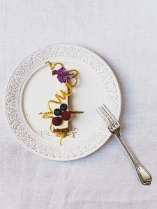 Cheesecake de mascarpone con limón